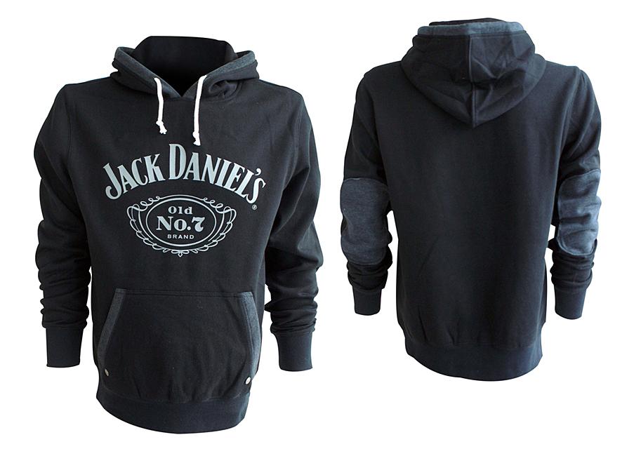 Mikina Jack Daniels Black, Old No. 7 Hoodie
