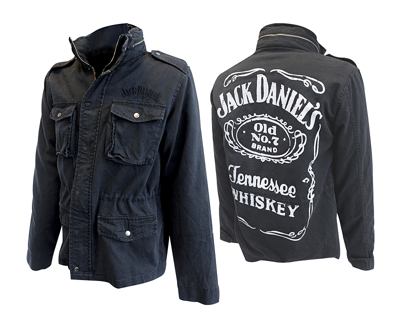 Teplá bunda Jack Daniels Winter Jacket