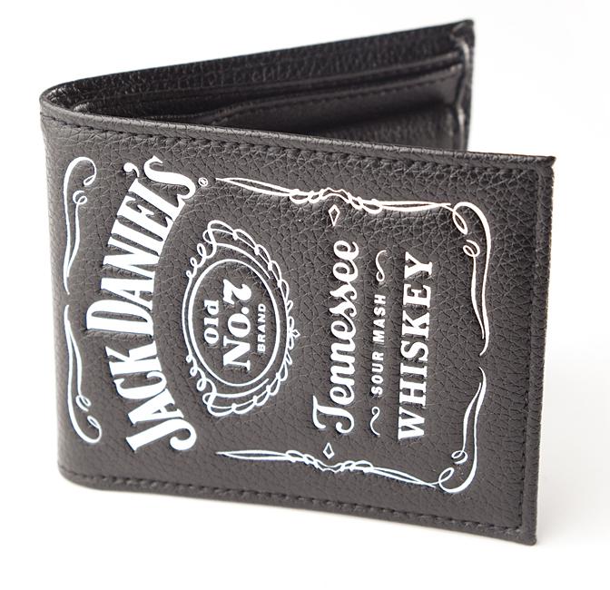 Peněženka Jack Daniels - Bifold Classic White Logo