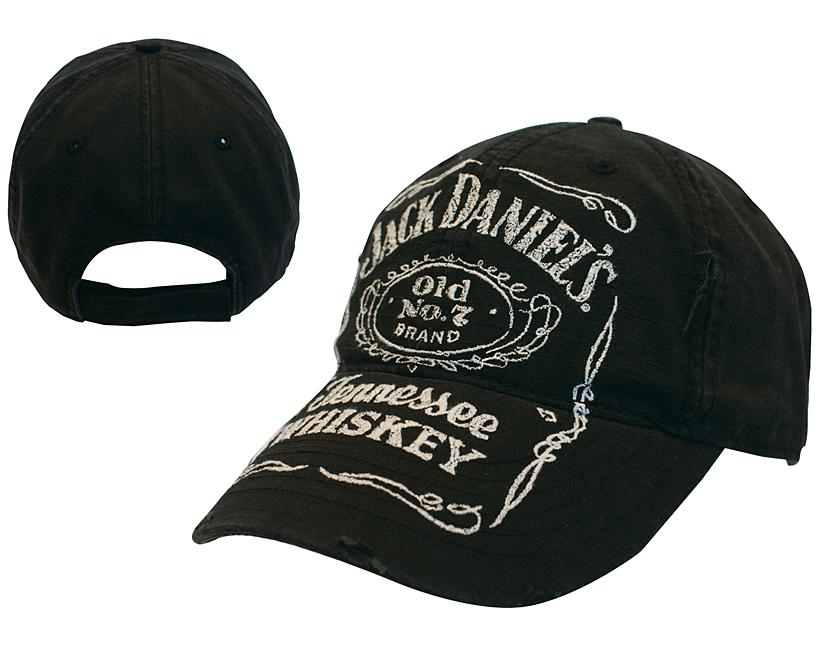 Čepice kšiltovka Jack Daniels - Black W/ Logo Adjustable Cap