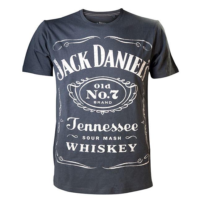 Tričko Jack Daniels Reversible Printed, Black