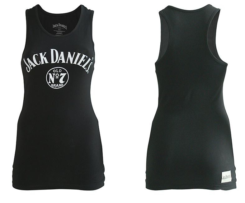 Dámské tričko Jack Daniels Black, Female No 7 Tanktop