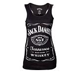 Dámské tričko Jack Daniels Black, Logo Female Tanktop