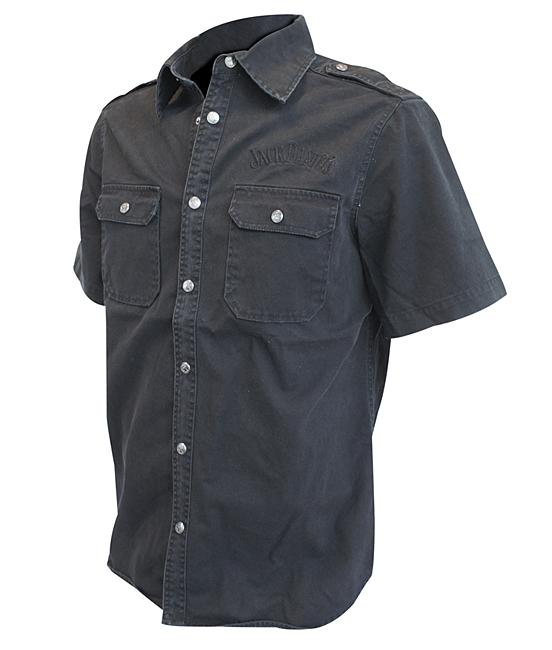 Košile Jack Daniels Short Sleeve Workershirt