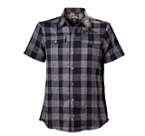 Košile Jack Daniels Black/Grey Checks Shirt